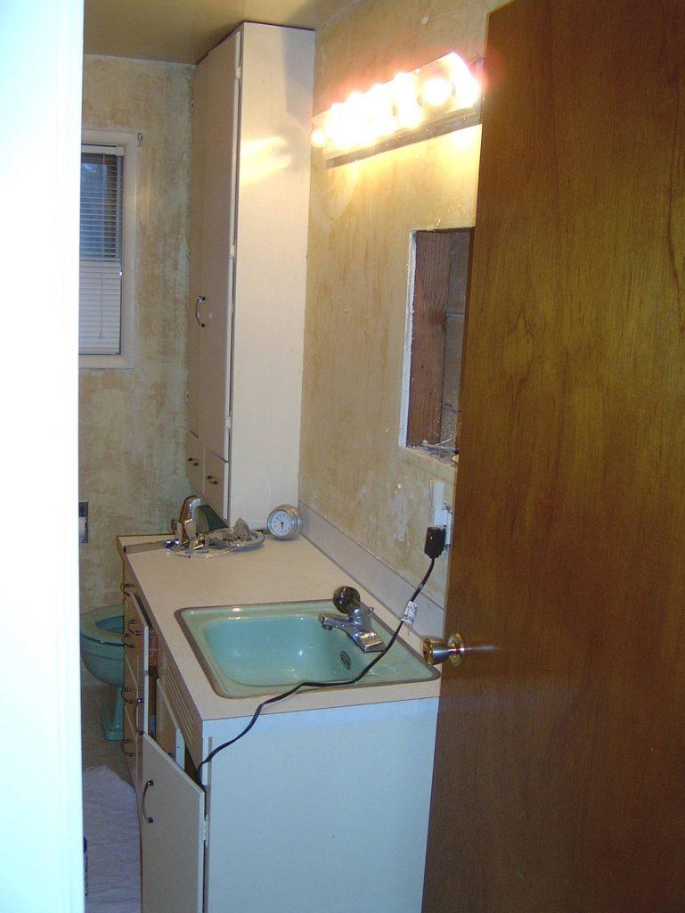 bathroom reno on the cheap