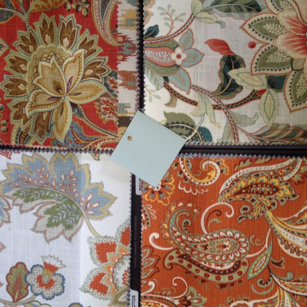 Selecting: Fabric and Paint